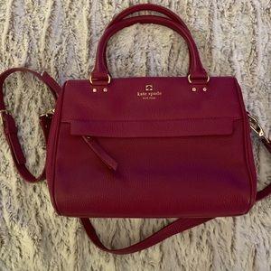 Kate Spade Bengal Purple Crossbody Handbag